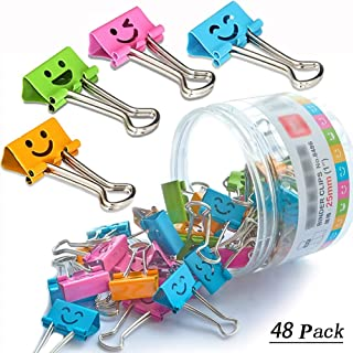 Best colored binder clips Reviews