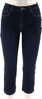 Belle Kim Gravel Flexibelle Cropped Jeans A290130