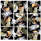 B.Dazzle Scramble Squares Owls 9 Piece Challenging Puzzle - Ultimate Brain Teaser and Mind Game for Young and Senior Alike - Engaging and Creative With Beautiful Artwork