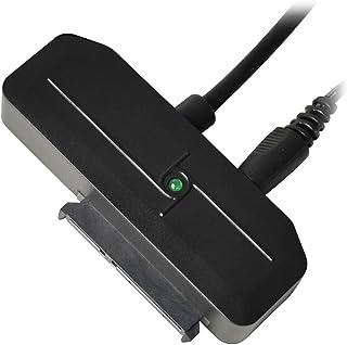 オウルテック 2.5インチ/3.5インチSATA HDD用アダプタ ACアダプタ付 SATA⇒USB3.0 USB3.0 新IC UASP対応 ガチャポンパッ!でデータ移動 OWL-PCSPS3U3U2