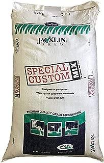 Jacklin Seed - Contractor's Mixture - 50% Kentucky Bluegrass, 40% Creeping Red Fescue, 10% Perennial Ryegrass | Certified Grass Seed (5-50 lbs) (25 lbs (10,000 sq ft))