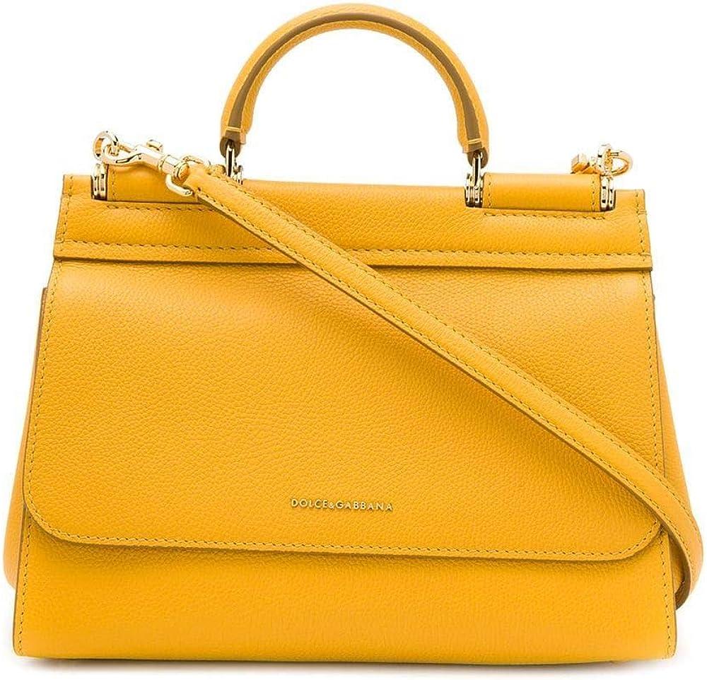 Dolce & gabbana luxury fashion, borsa a mano per donna,in pelle BB6755AA4098H220