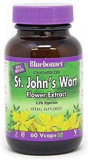 BlueBonnet St. John's Wort Flower Extract Supplement, 60 Count