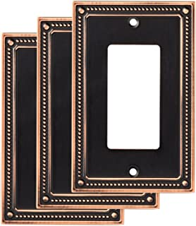 Franklin Brass W35060M-VBC-C Wall Plate (3 Pack), Bronze with Copper Highlights