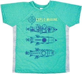T-Shirt de Malha com Silk