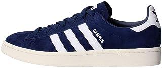 adidas Men's Campus Trainers, Blue (Dark Blue/Footwear White/Chalk White), 11.5 UK (46 2/3 EU)