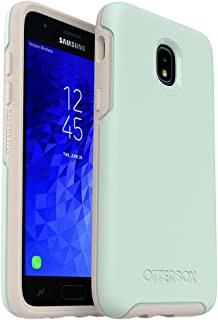 OtterBox Symmetry Series Case for Samsung Galaxy J3/J3 (2018)/J3 V 3rd gen/J3 3rd gen/Amp Prime 3/J3 Star - Retail Packaging - Muted Waters (SURF Spray/Silver Lining)