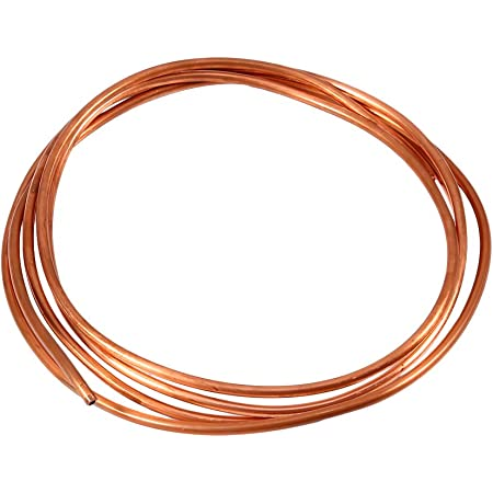 OD 2mm x ID 1mm Heat Exchange for Generators Refrigeration Plumbing Cable Switchgear Bus Bar Copper Pipe Corrosion Resistance Copper Round Tubing
