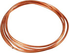 2M Soft Copper Tube Pipe Roll OD 4mm x ID 3mm for Refrigeration Plumbing