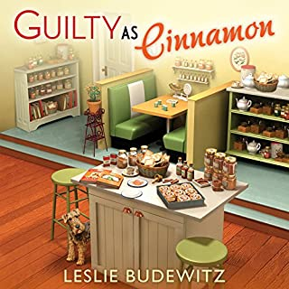 Guilty as Cinnamon     Spice Shop Mystery, Book 2              By:                                                                                                                                 Leslie Budewitz                               Narrated by:                                                                                                                                 Dara Rosenberg                      Length: 9 hrs and 25 mins     201 ratings     Overall 4.5