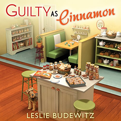 Guilty as Cinnamon audiobook cover art