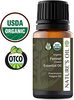Best Fennel Sweet Essential Oil Pure Certified Organic Therapeutic Grade 10ml