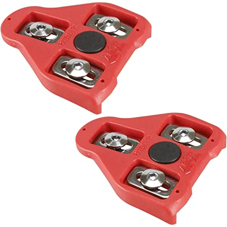 CyclingDeal Compatible with Peloton Look Delta (9 Degree) Bike Cleats - Indoor Cycling & Road Bike Bicycle Cleat Set - Fully Identical or Compatible with Peloton Indoor Bikes Pedals and Shoes