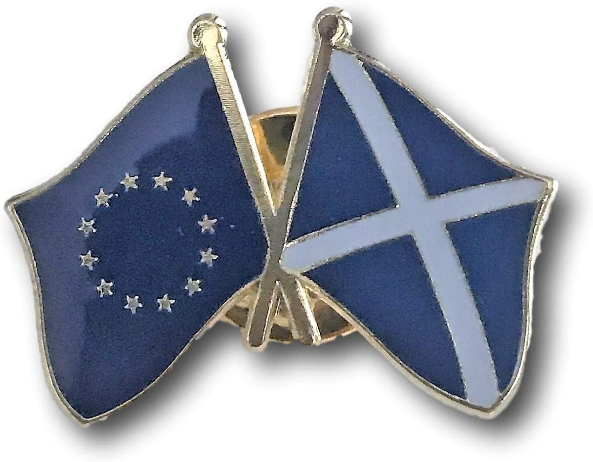 2021new shipping free Backwoods Barnaby EU - Scotland Crossed P Lapel National products Flags Friendship