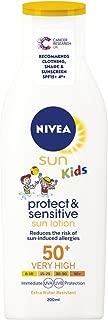 Nivea Sun Lotion For Kids Protect & Sensitive Spf50 200ml