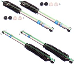 """NEW BILSTEIN FRONT & REAR SHOCKS FOR 07-18 JEEP WRANGLER JK WITH A 1.5"""" TO 3"""" LIFT, GAS SHOCK ABSORBERS, ISLANDER MOUNTAIN RUBICON SAHARA SPORT UNLIMITED X X-S 2007 2008 2009 2010 2011 2012 2013 2014"""