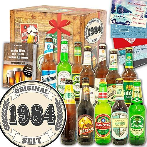 Original seit 1984 ++ 12 Biere Welt und DE ++ Geschenk für Ehefrau