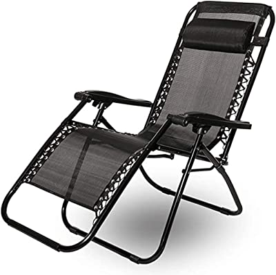 QFQ Folding Lounge Chair Lazy Sofa Balcony Leisure Chair Outdoor Terrace Lounge Chair Portable Home Simple Stool