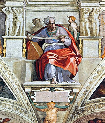 The Museum Outlet - The Prophet Joel by Michelangelo - Poster (Medium)