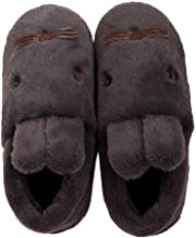 Cute Animal House Slippers Bunny Family Indoor Outdoor Fuzzy Booties Unisex