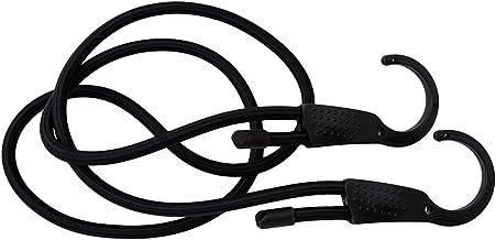 Duurzaam 1.5 m elastische riem verstelbare spanning riem auto waslijn haak lading bagage sjorren gesp touw voor motorfiets...