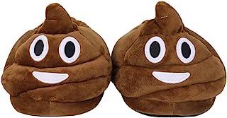 Stuffed Household Indoor Pantoufles, Emoji Peluche doux en peluche Slipper Hommes et Femmes Chaussons Hiver Chaud House Shoes