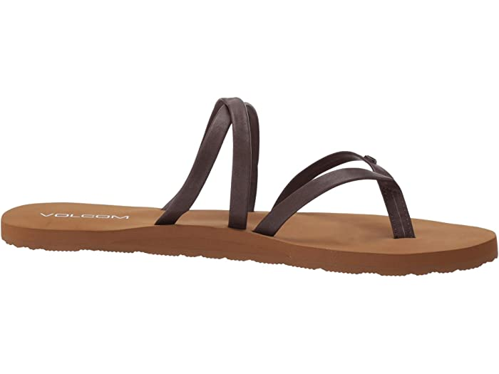 Volcom Easy Breezy Ii Sandal Brown Sandals