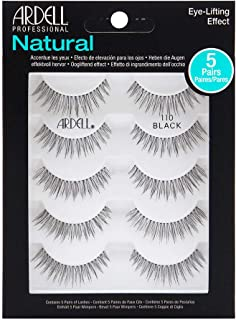 Ardell Natural Multipack Lashes - 110 Black 5 Pack