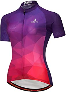 Cycling Skin Suit Moisture Wicking Short-sleeved Shirt, Quick-drying Suit, Women's Sports, Breathable Cycling Wear