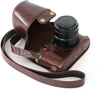MegaGear MG233 Estuche para cámara fotográfica - Funda (Funda Leica X Vario Marrón)