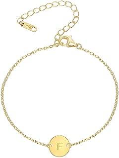 Best gold monogram bracelet Reviews