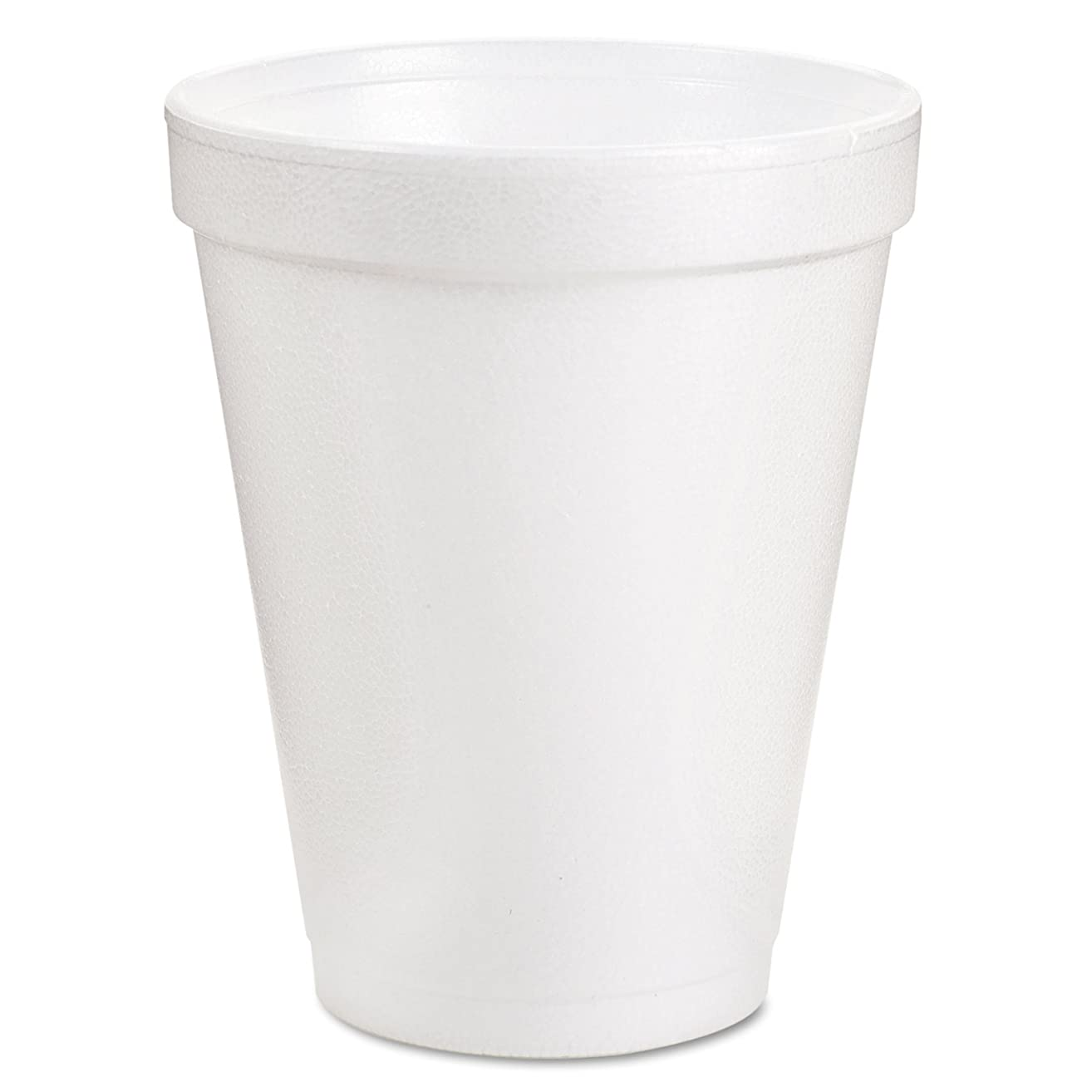 Dart Container Corp. 209-8J8 8J8 Foam Cups, 8 oz, White (Pack of 1000)