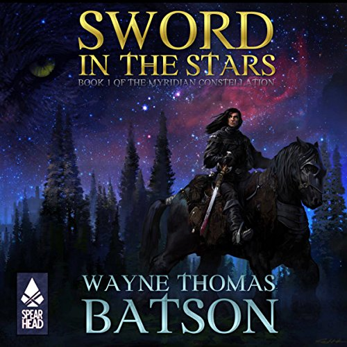 Sword in the Stars audiobook cover art