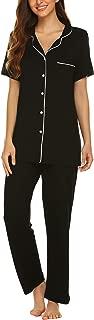 Best women's short sleeve button down pajamas Reviews
