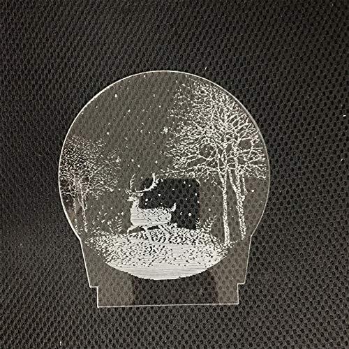 Klein Nachtlampje Creatieve 3D Kleine Tafellamp 1 Jungle Fawn