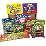 Warheads Extreme Super Sour American Candy Selection Gift Box - Hamper Exclusive To Burmont's
