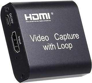 Placa de captura HD para U Staright SB com saída de loop Placa de captura de videoconferência Caixa de conversão de webcas...