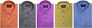 TANGY Combo Pack of 5 Mens Full Shirt