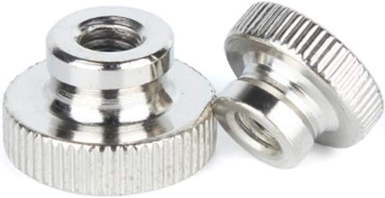 Nuts M2 M2.5 M3 M4 M5 M6 thumb high Free Shipping Cheap Bargain Gift Max 86% OFF s nut stainless knurled head
