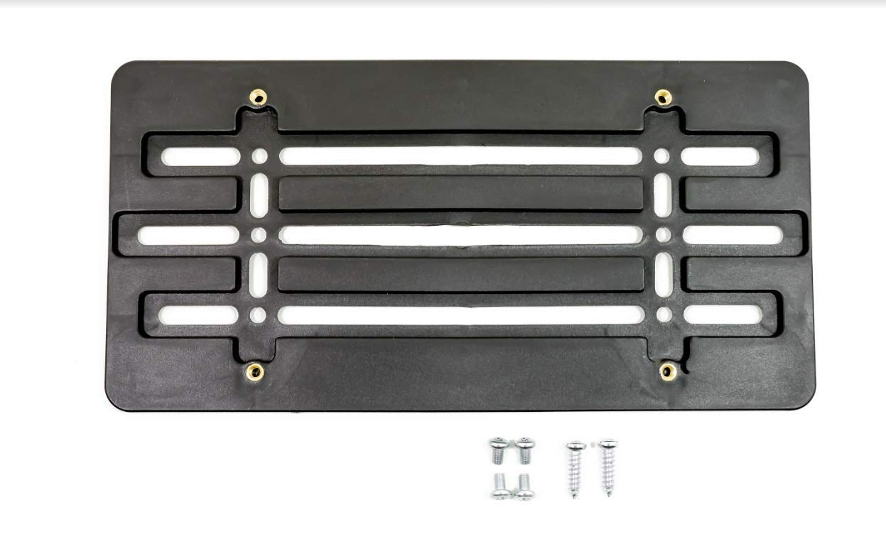 License Plate Tag Holder Mount Nippon regular agency Adapter Mounting Max 64% OFF Fr for Relocator