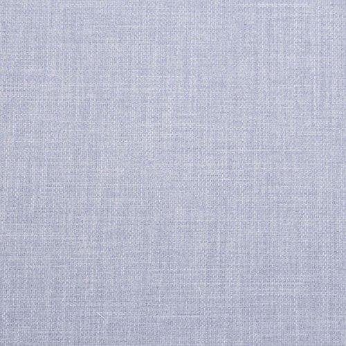 I want tessuto effetto lino design morbido a tinta unita tenda cuscino divano rivestimento tessuto materiale Light Blue