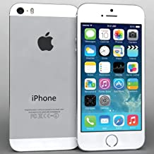 $99 » iPhone 5S Silver 16GB Unlocked Att Tmobile Sprint Metro Cricket Straight Talk (Renewed)
