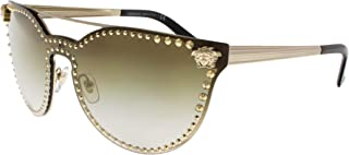 Versace Women's Rock Brow Bar Sunglasses