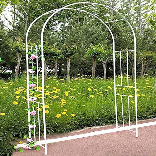 LIUU Robusto Arco para Jardín,Arco De Jardín para Plantas Fácil De Montar,Arco De Flores para Boda para Recepción,Fondo De Fotomatón,Decoración De Tiendas,Terraza