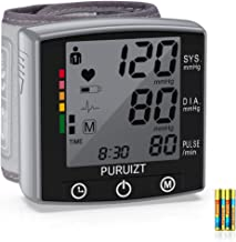 Wrist Blood Pressure Monitor, Puruizt Accurate Automatic Digital Blood Pressure Machine with Portable Carrying Case, Large...