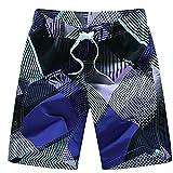 Shorts Pantalones Cortos Hombres Pantalones Cortos De Hombre Pantalones Cortos De Camuflaje Bermudas Casuales para Hombre M Violeta