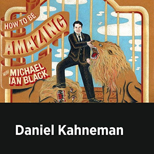 Daniel Kahneman audiobook cover art