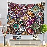 Brandless Colorido Mandala Hippie Bohemio Colgante de Pared Yoga Picnic Mat Fondo Decoración Decoración del hogar Fondo Tapiz