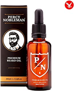 Beard Oil By Percy Nobleman - Premium Scented Blend (50ml)