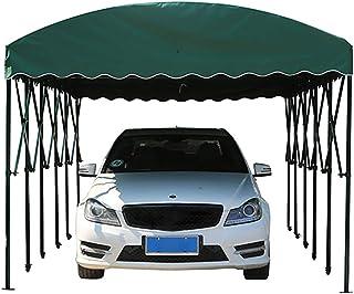 ZDYLM-Y Carport Abri portative Pliable de carports avec Pare-Soleil/imperméable/Coupe-Vent, Stable et Durable, Garage Mobi...